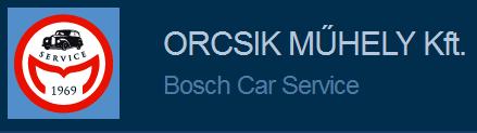 Bosch Car Service Orcsik Műhely Kft.